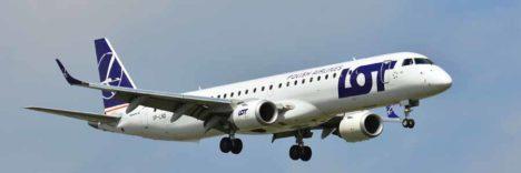 LOT Polish Airlines Embraer E195 © mit freundl. Genehmigung Jacek Bonczek